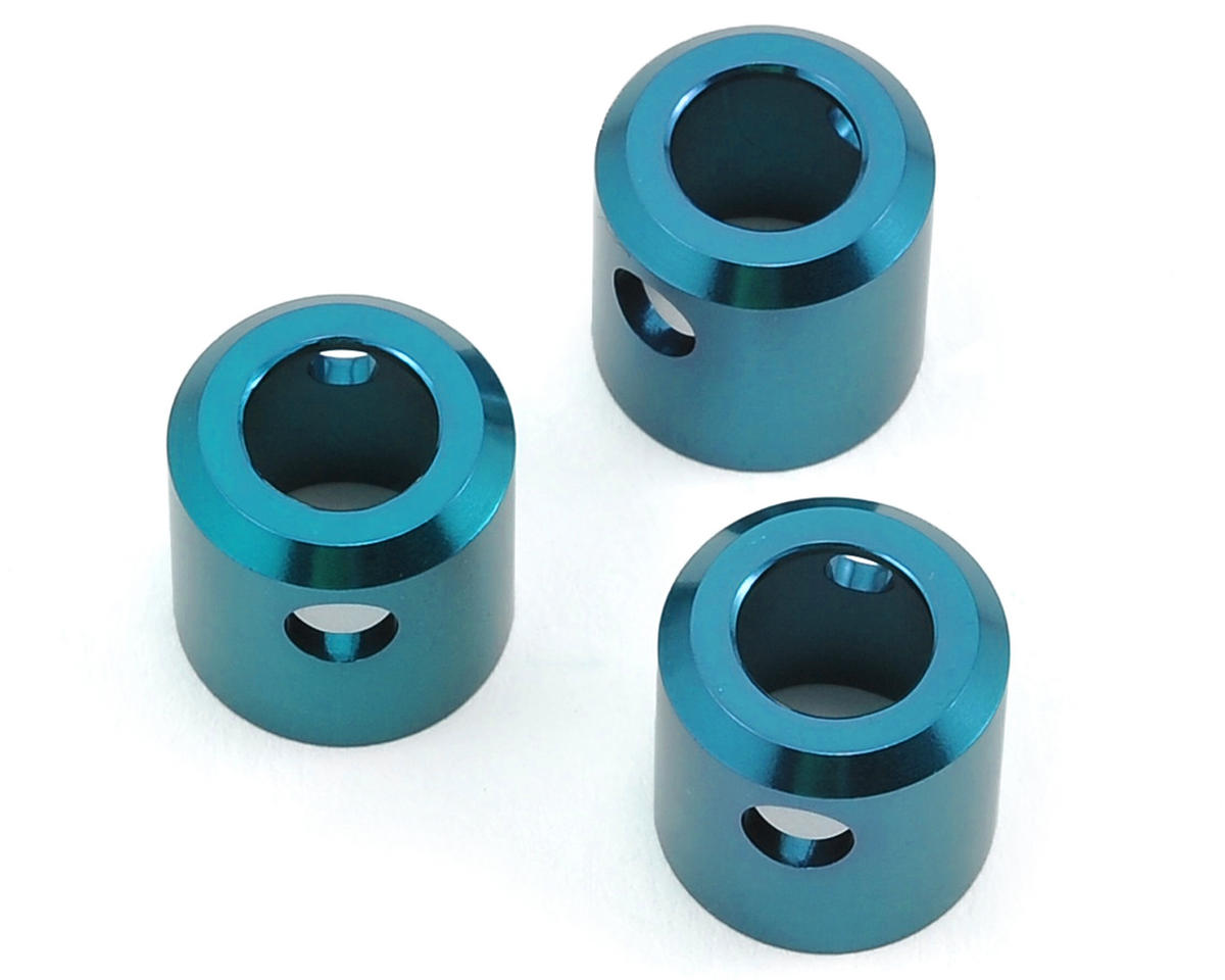 ST Racing Concepts Aluminum Driveshaft Cups (3) (Blue)