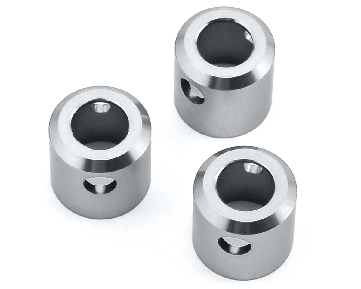 ST Racing Concepts Aluminum Driveshaft Cups (3) (Silver)