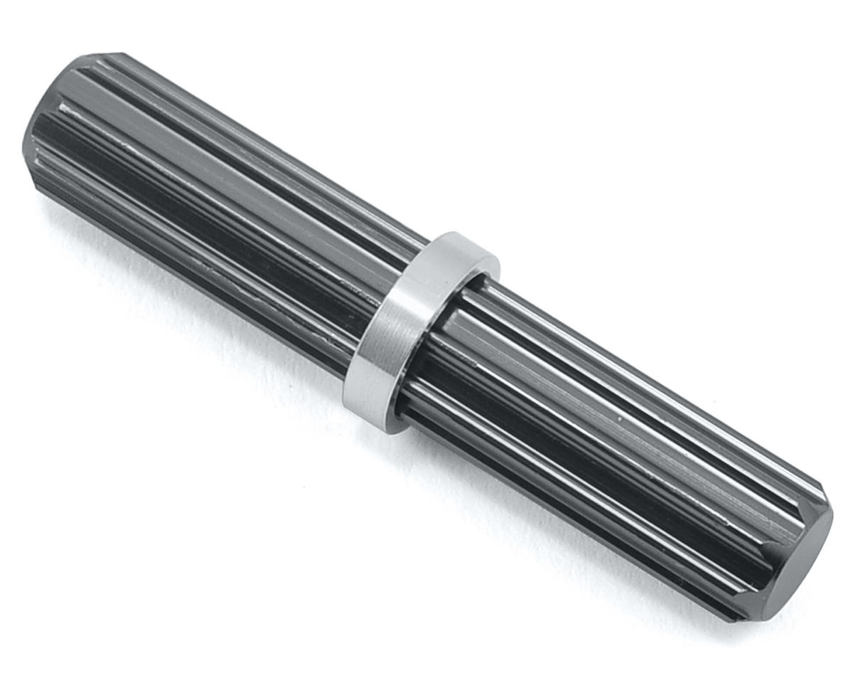 ST Racing Concepts Aluminum Center Driveshaft Spline (Gun Metal)