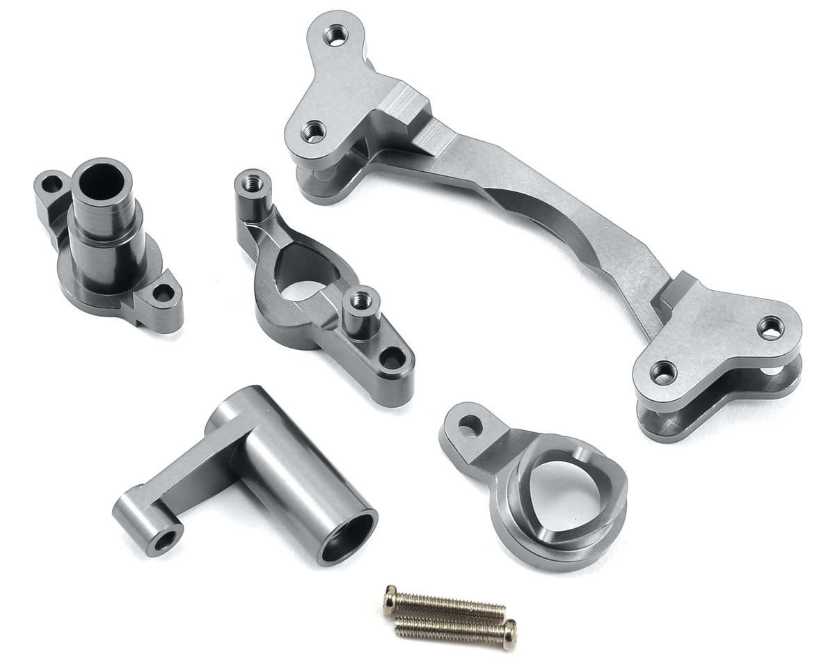 ST Racing Concepts Aluminum HD Steering Bellcrank Set (Silver)