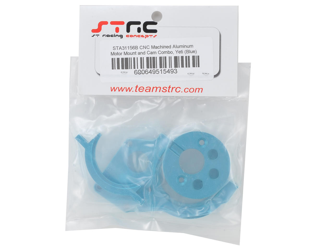 ST Racing Concepts Aluminum Motor Mount/Motor Cam Combo (Blue)