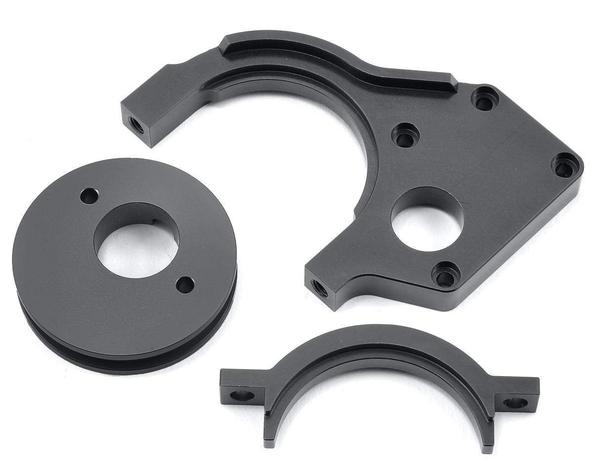 ST Racing Concepts Aluminum Motor Mount/Motor Cam Combo (Gun Metal)