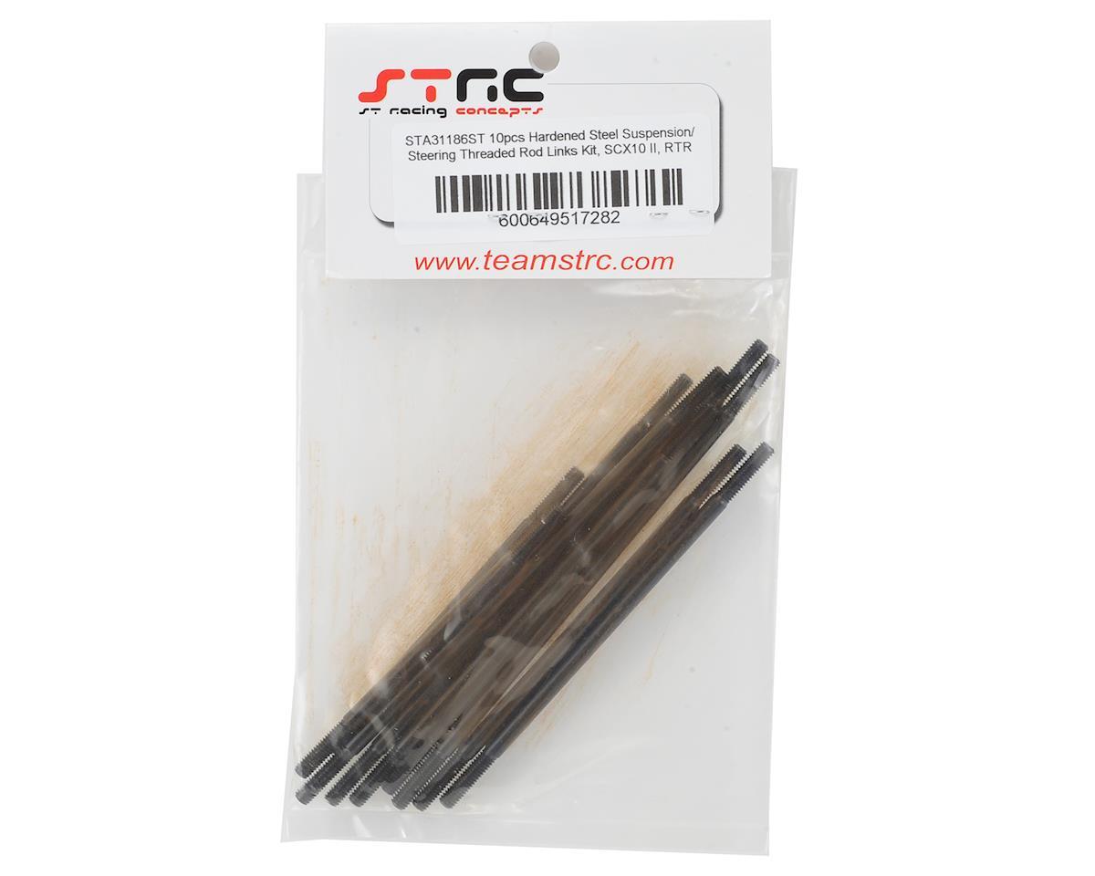 ST Racing Concepts SCX10 II Hardened Steel Suspension/Steering Link Set (10)