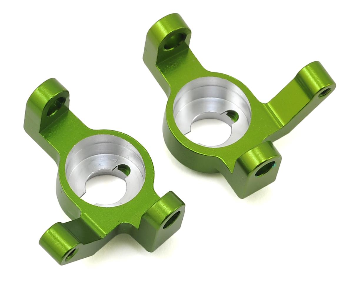 ST Racing Concepts Wraith/RR10 Aluminum V2 Steering Knuckle Set (2) (Green)