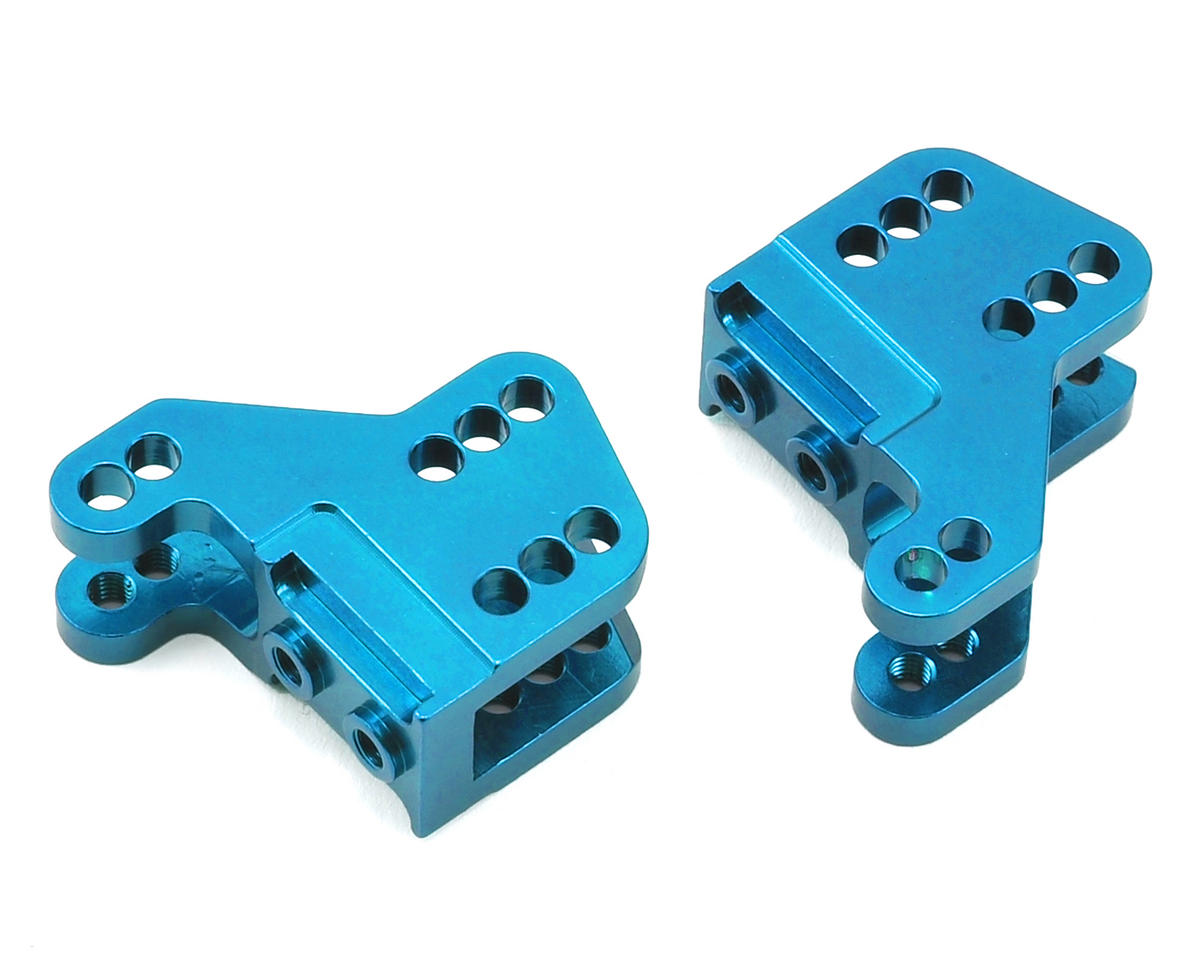 ST Racing Concepts RR10/Wraith Aluminum Lower Shock Mount (2) (Blue)