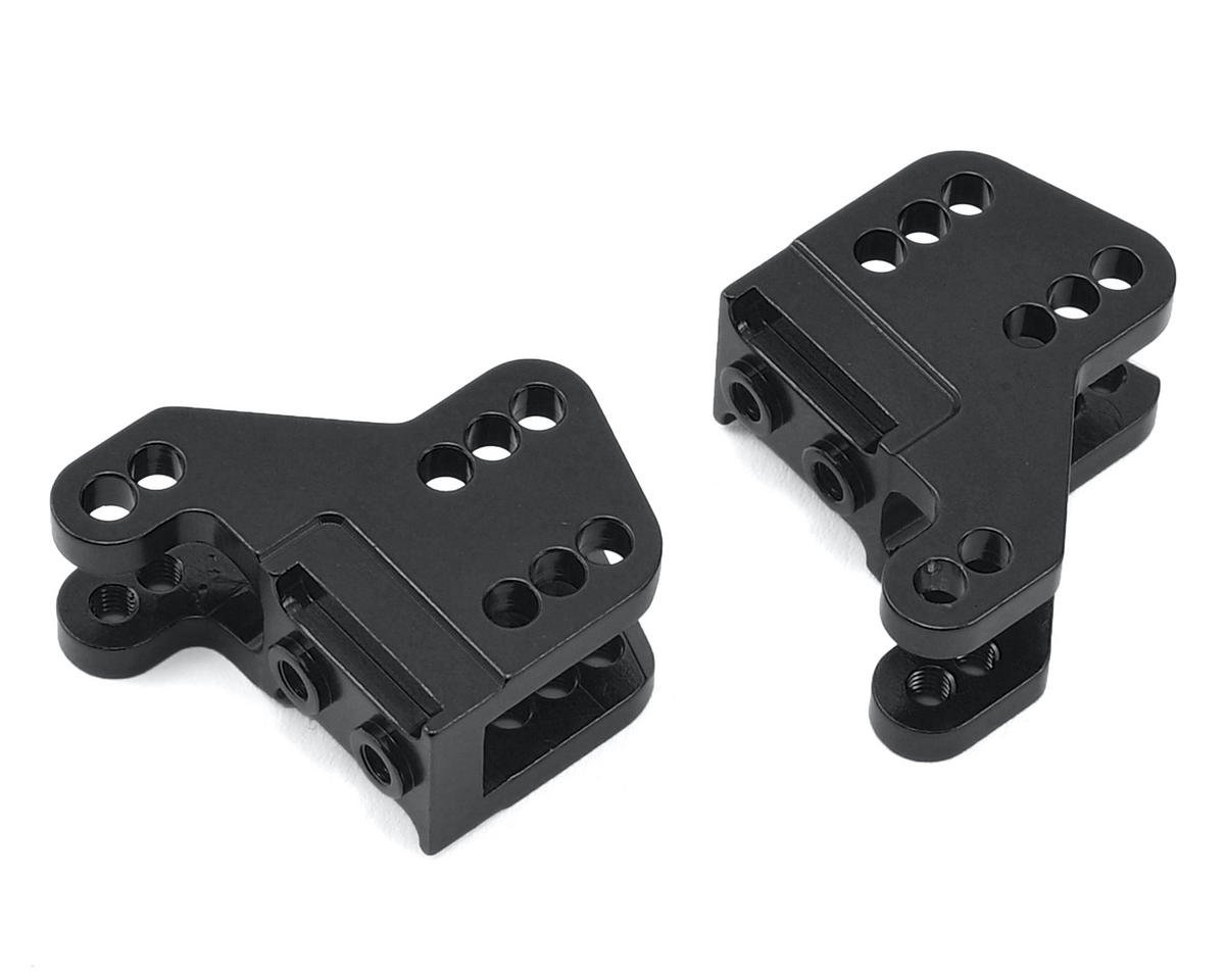 ST Racing Concepts RR10/Wraith Aluminum Lower Shock Mount (2) (Black)