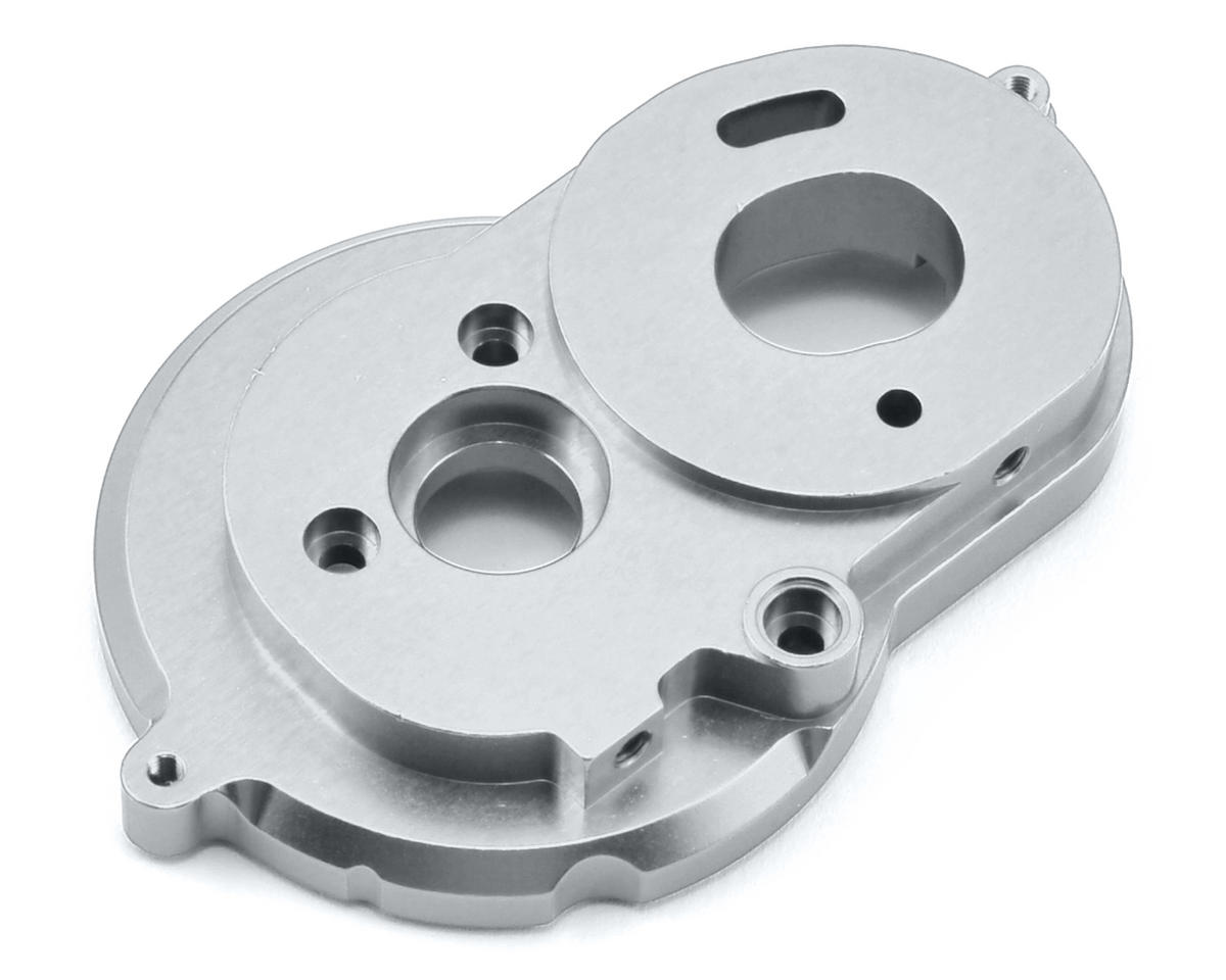 SCX10 II Aluminum One Piece Motor Mount (Silver) by ST Racing Concepts