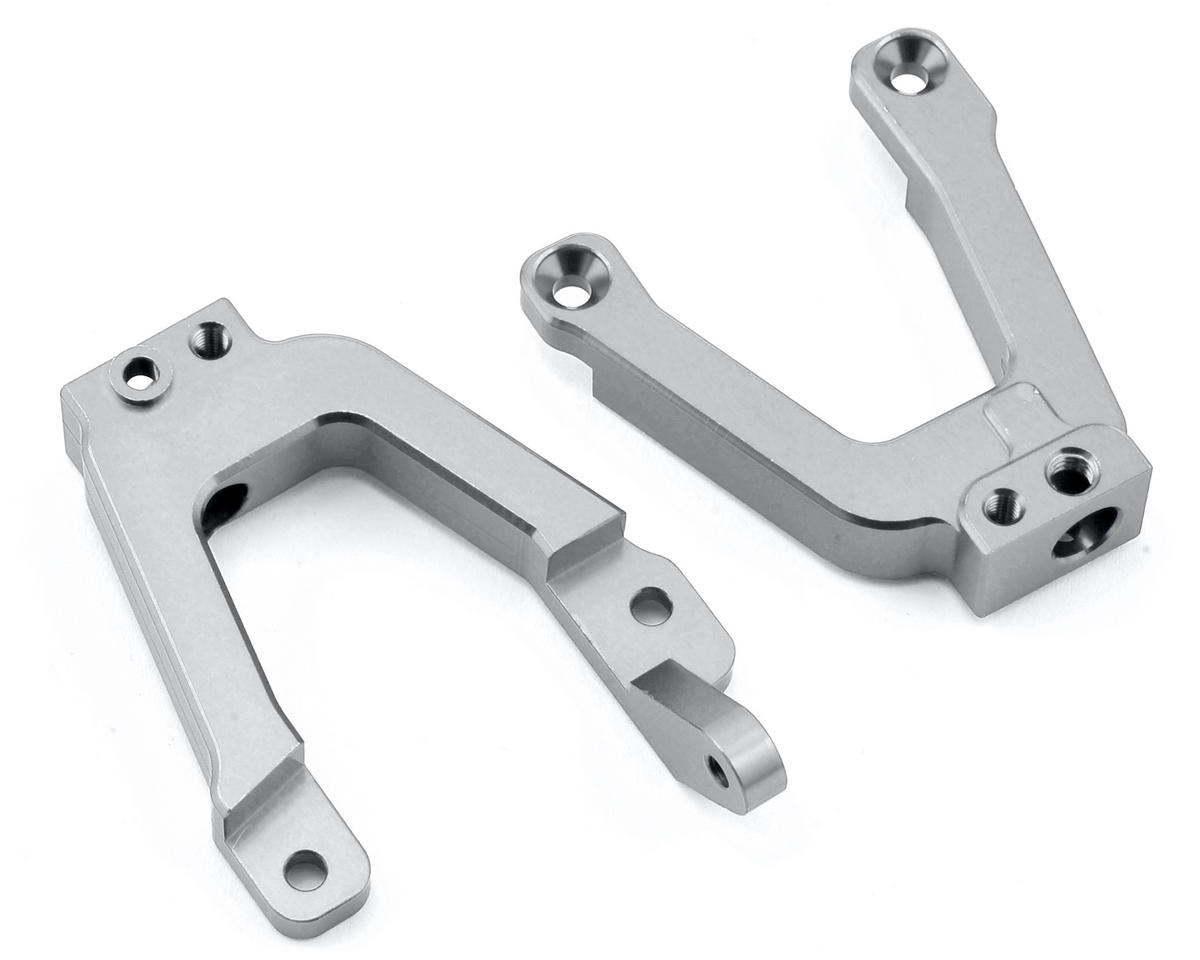 SCX10 II HD Front Shock Towers w/Panhard Mount (Silver) by ST Racing Concepts