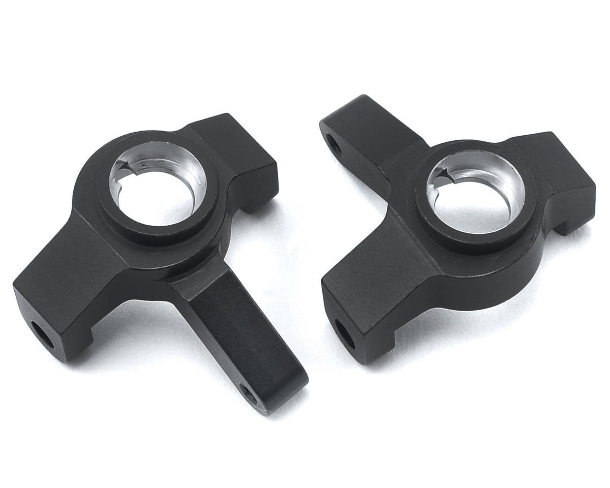ST Racing Concepts SCX10 II Aluminum Steering Knuckles (Black)