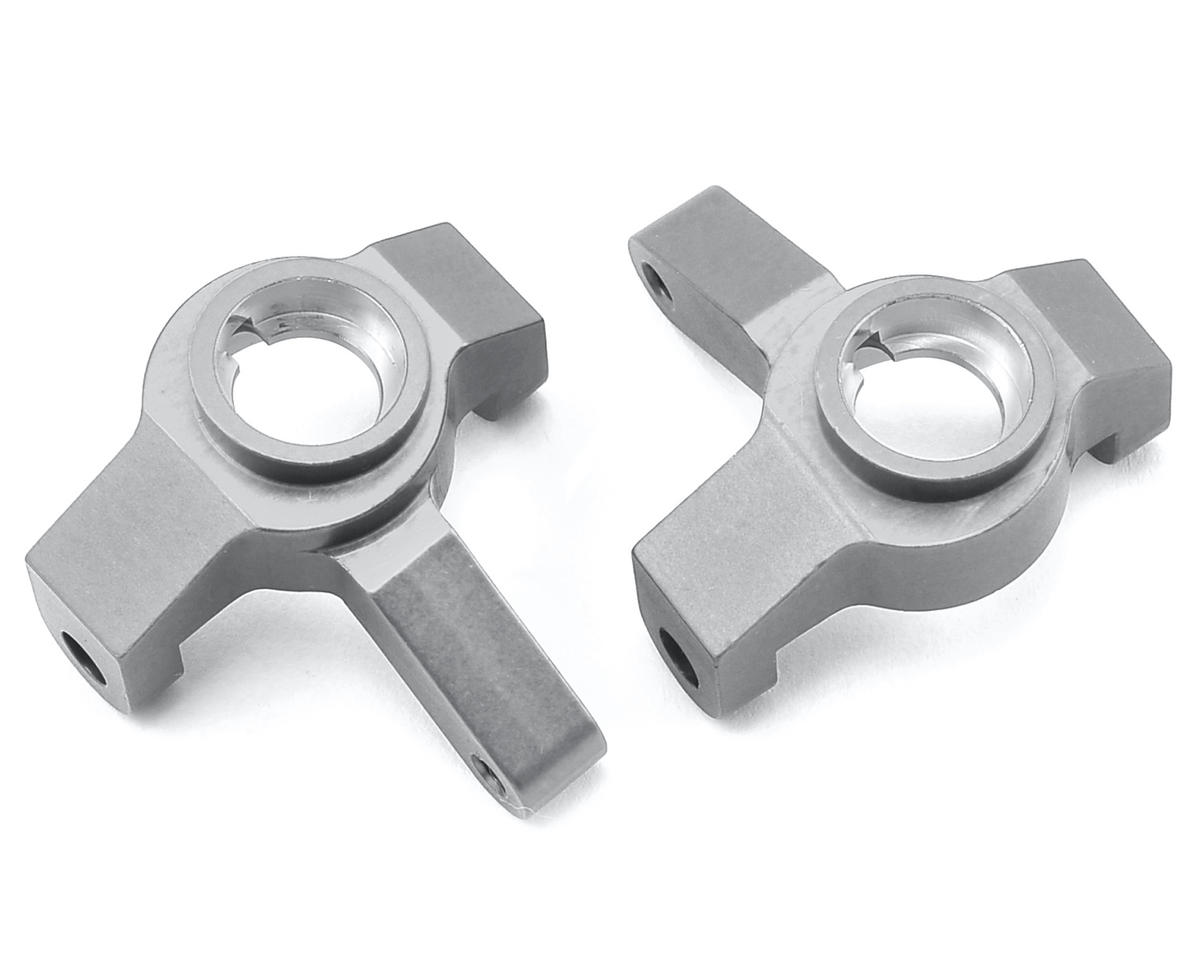 ST Racing Concepts SCX10 II Aluminum Steering Knuckles (Silver)