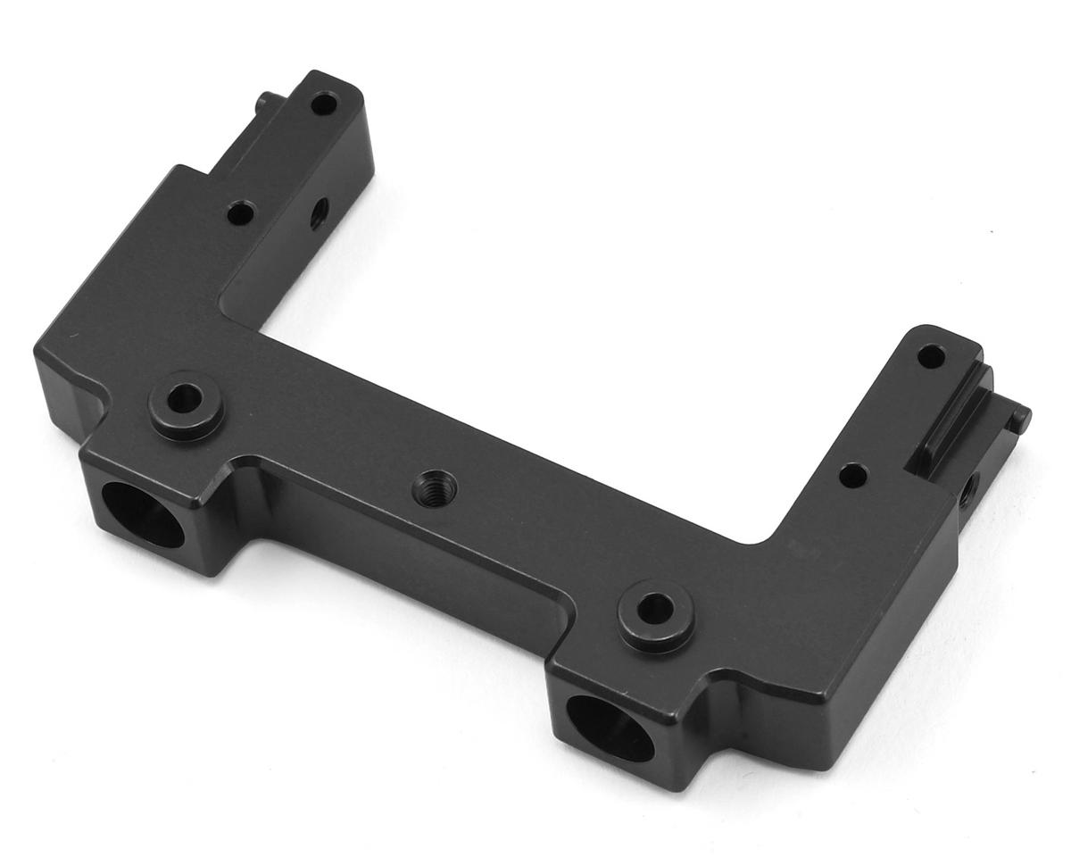 SCX10 II Aluminum Rear Bumper Mount/Chassis Brace (Black) by ST Racing Concepts