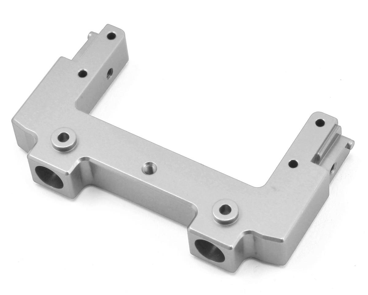 ST Racing Concepts SCX10 II Aluminum Rear Bumper Mount/Chassis Brace (Silver)