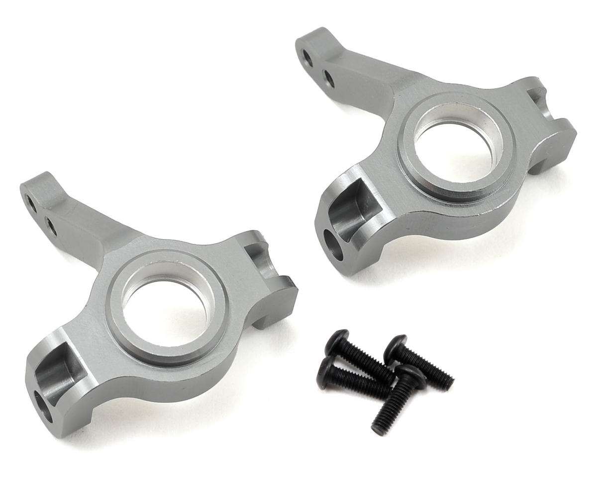 ST Racing Concepts Aluminum Steering Knuckles (Gun Metal) (2)