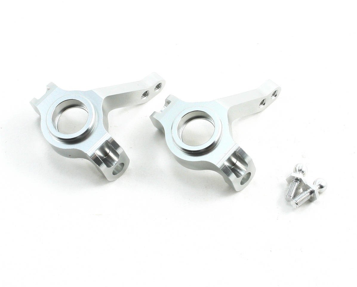 ST Racing Concepts Aluminum Steering Knuckles (Silver) (2)