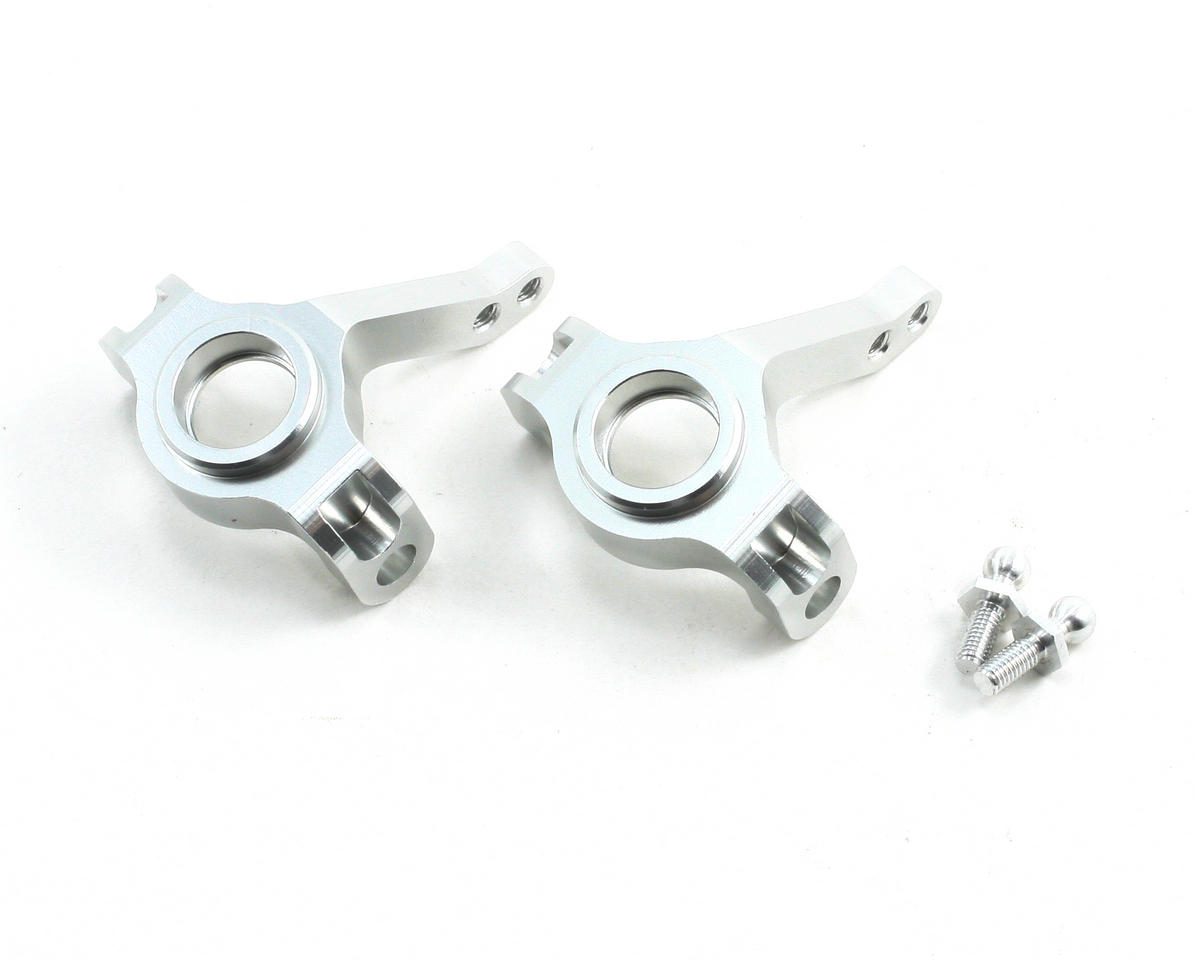 Aluminum Steering Knuckles (Silver) (2) by ST Racing Concepts