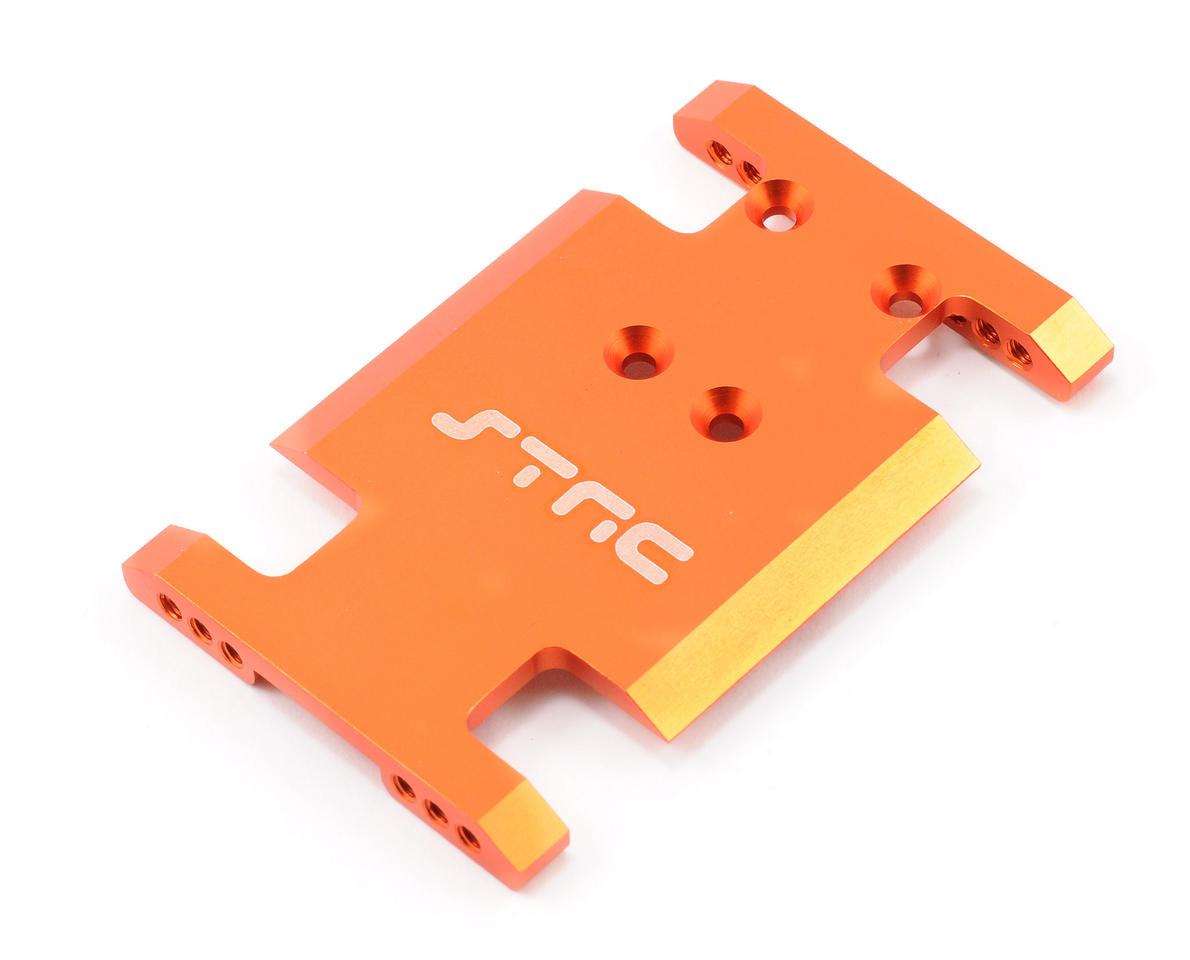 ST Racing Concepts Aluminum Center Transmission Mounting Plate (Orange)
