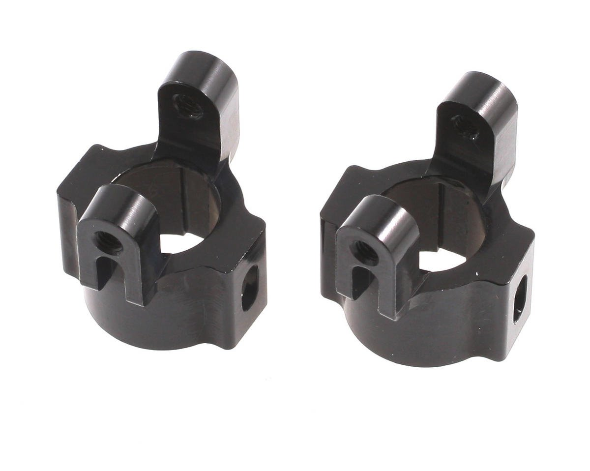 Aluminum Hub Carriers (Black) by ST Racing Concepts