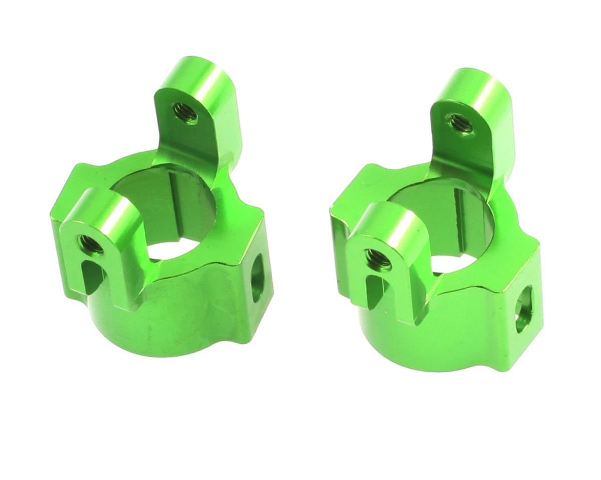 Aluminum Hub Carriers (Green) by ST Racing Concepts