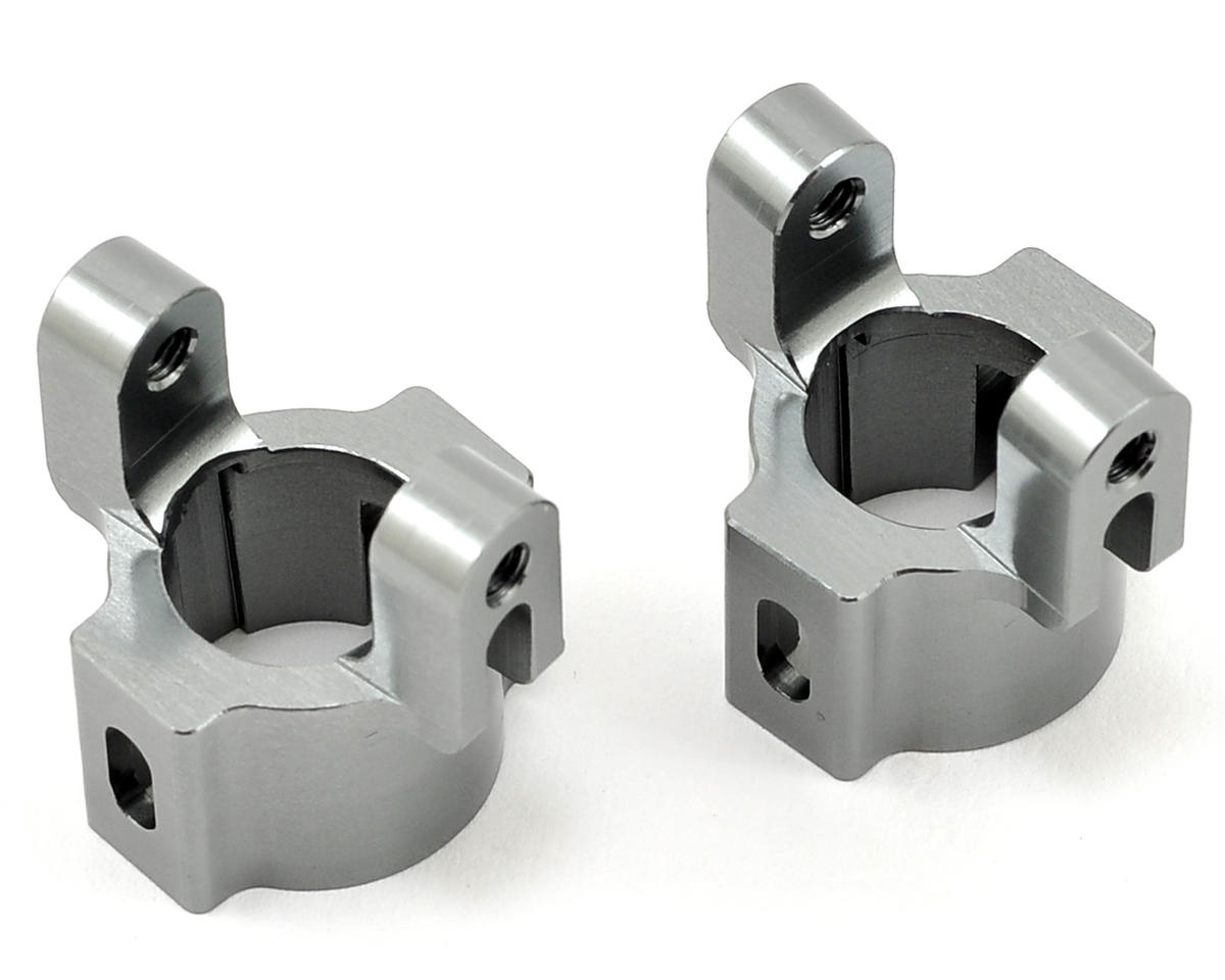 ST Racing Concepts Aluminum Hub Carriers (Gun Metal)