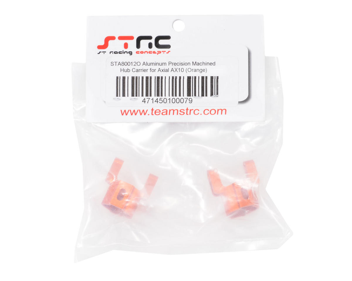 ST Racing Concepts Aluminum Hub Carriers (Orange)