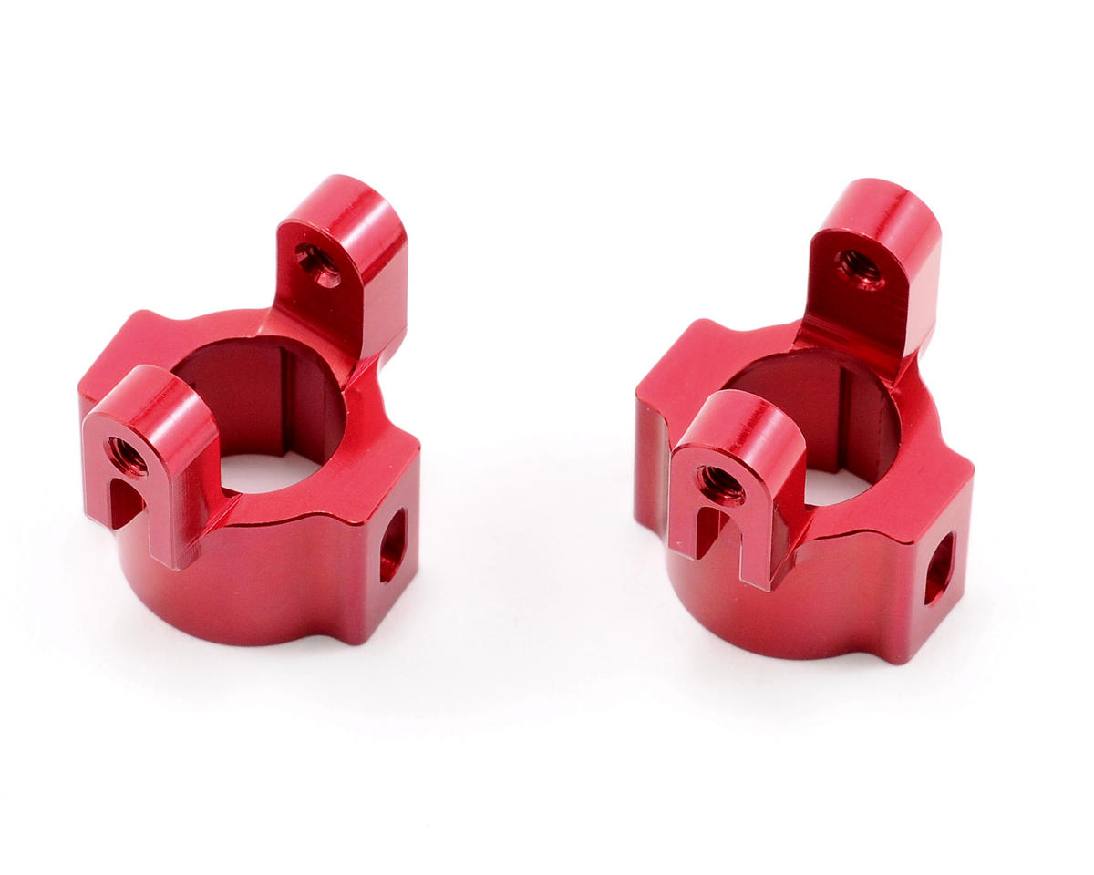 ST Racing Concepts Aluminum Hub Carriers (Red)
