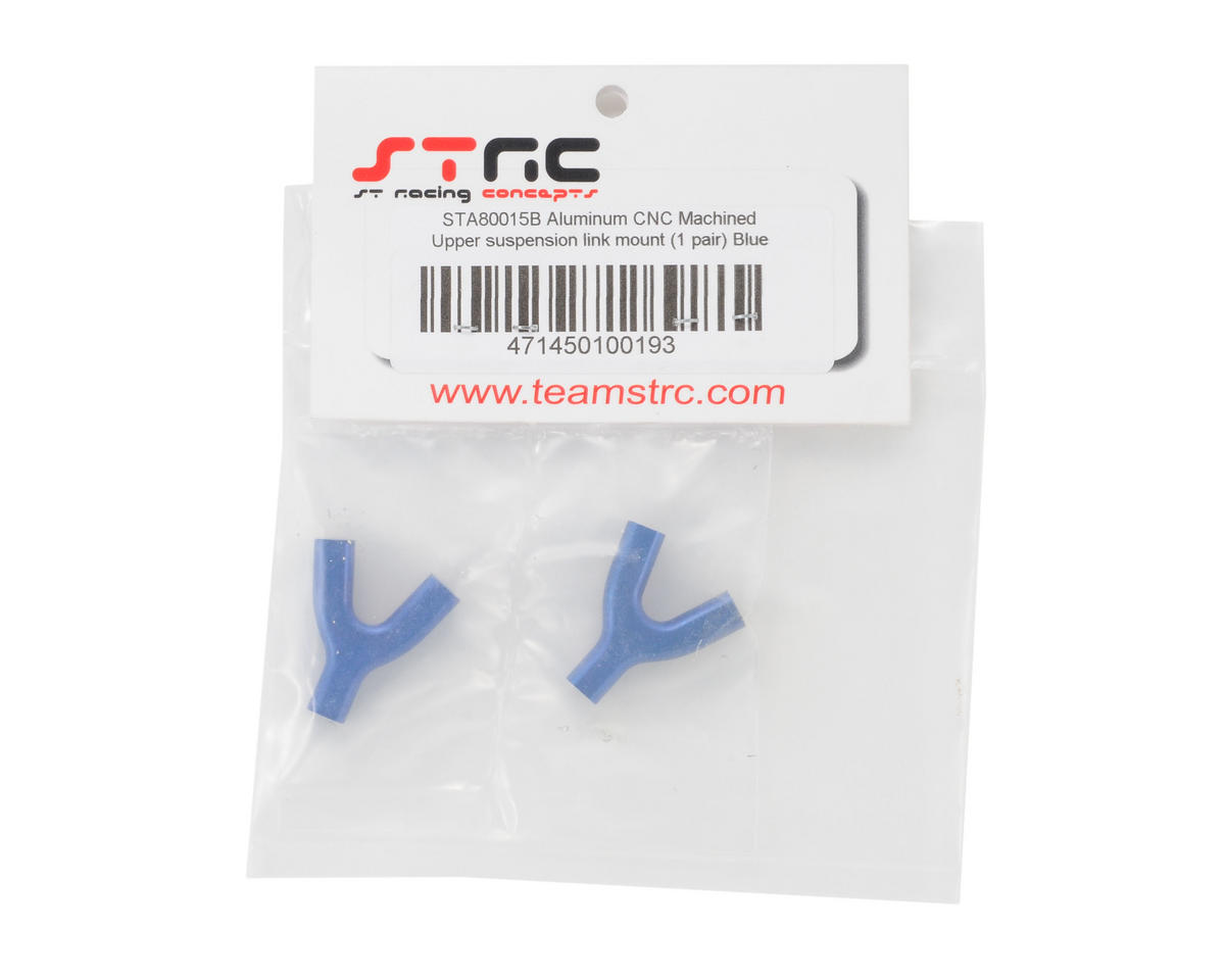 ST Racing Concepts Aluminum Upper Suspension Link �Y� Mount (Blue) (2)