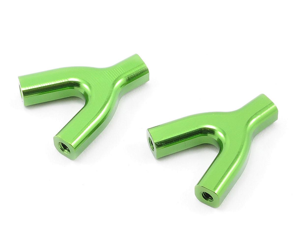 "ST Racing Concepts Aluminum Upper Suspension Link ""Y"" Mount Set (Green) (2)"