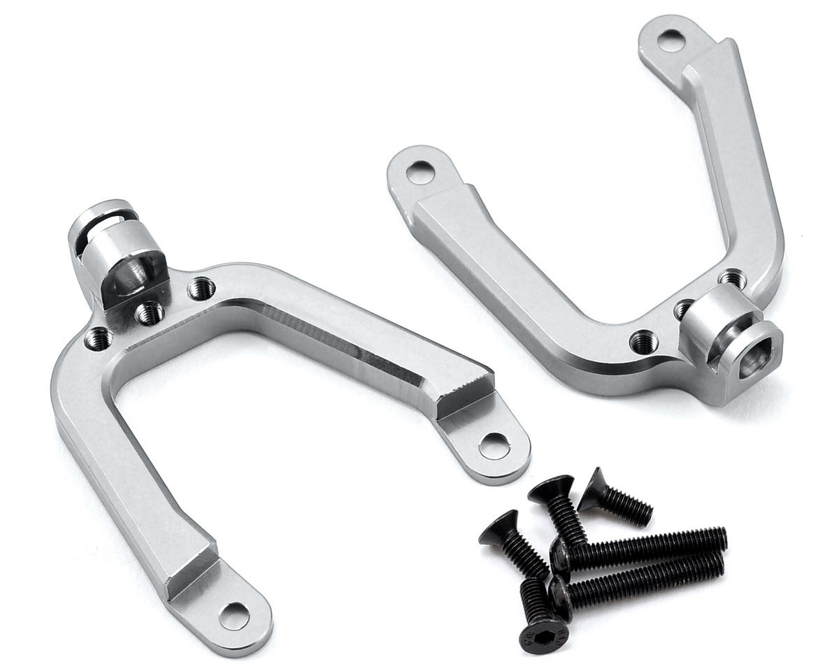 ST Racing Concepts SCX10 Aluminum Front Shock Tower Set (2) (Silver)