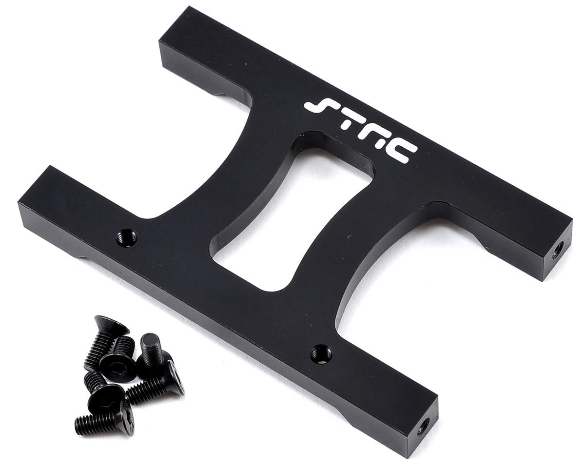 "SCX10 Aluminum Chassis ""H"" Brace (Black) by ST Racing Concepts"