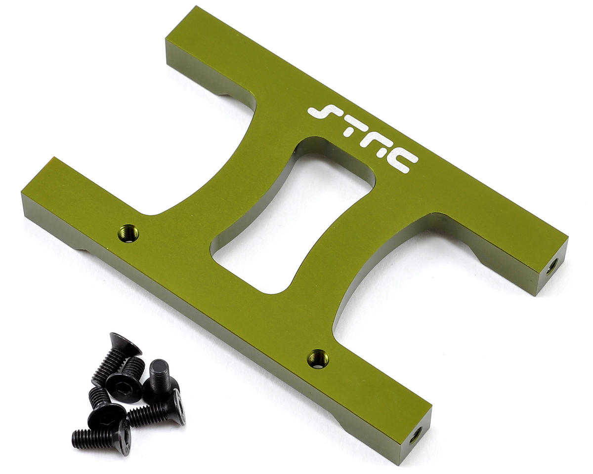 "ST Racing Concepts SCX10 Aluminum Chassis ""H"" Brace (Green)"