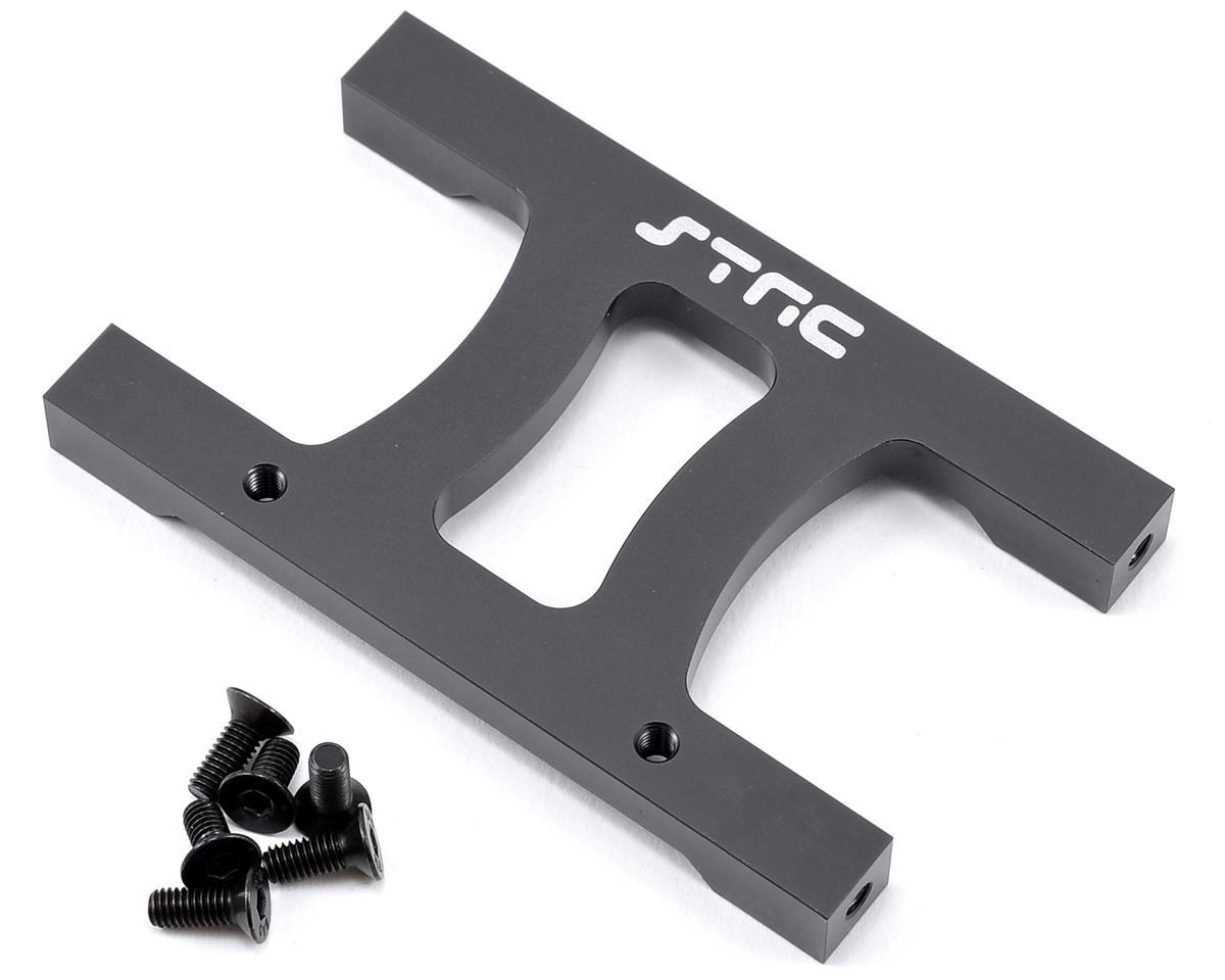 "ST Racing Concepts SCX10 Aluminum Chassis ""H"" Brace (Gun Metal)"