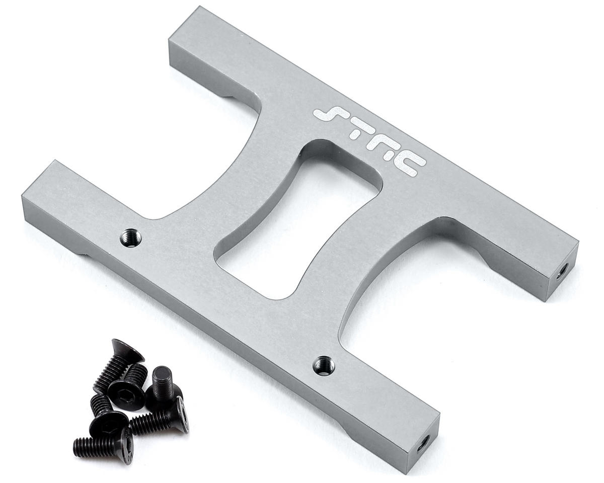 "SCX10 Aluminum Chassis ""H"" Brace (Silver) by ST Racing Concepts"