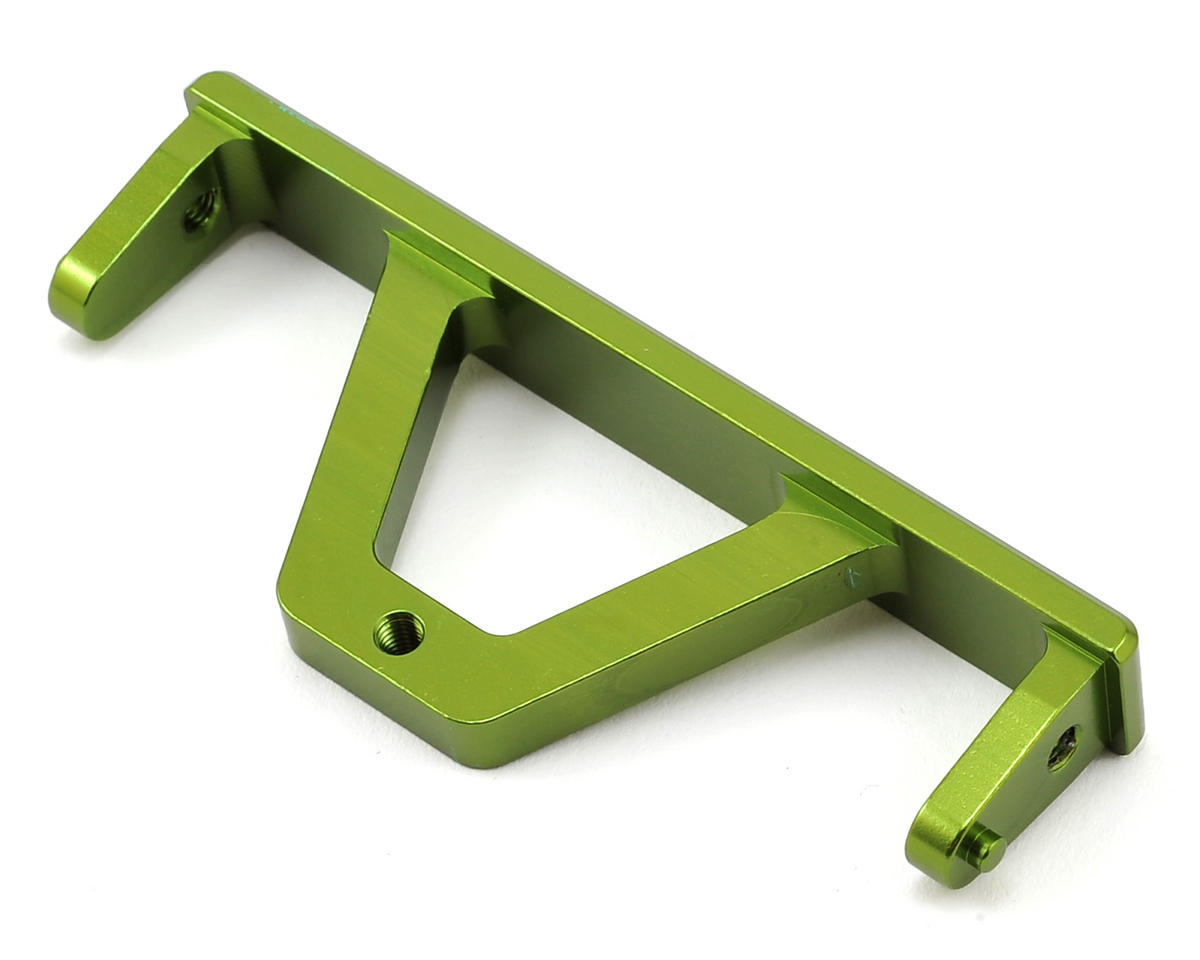 ST Racing Concepts SCX10 Aluminum Rear Chassis Rail Brace (Green)