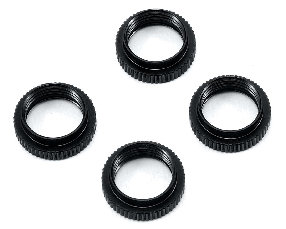 ST Racing Concepts Yeti Aluminum Shock Collar w/O-Ring (4) (Black)