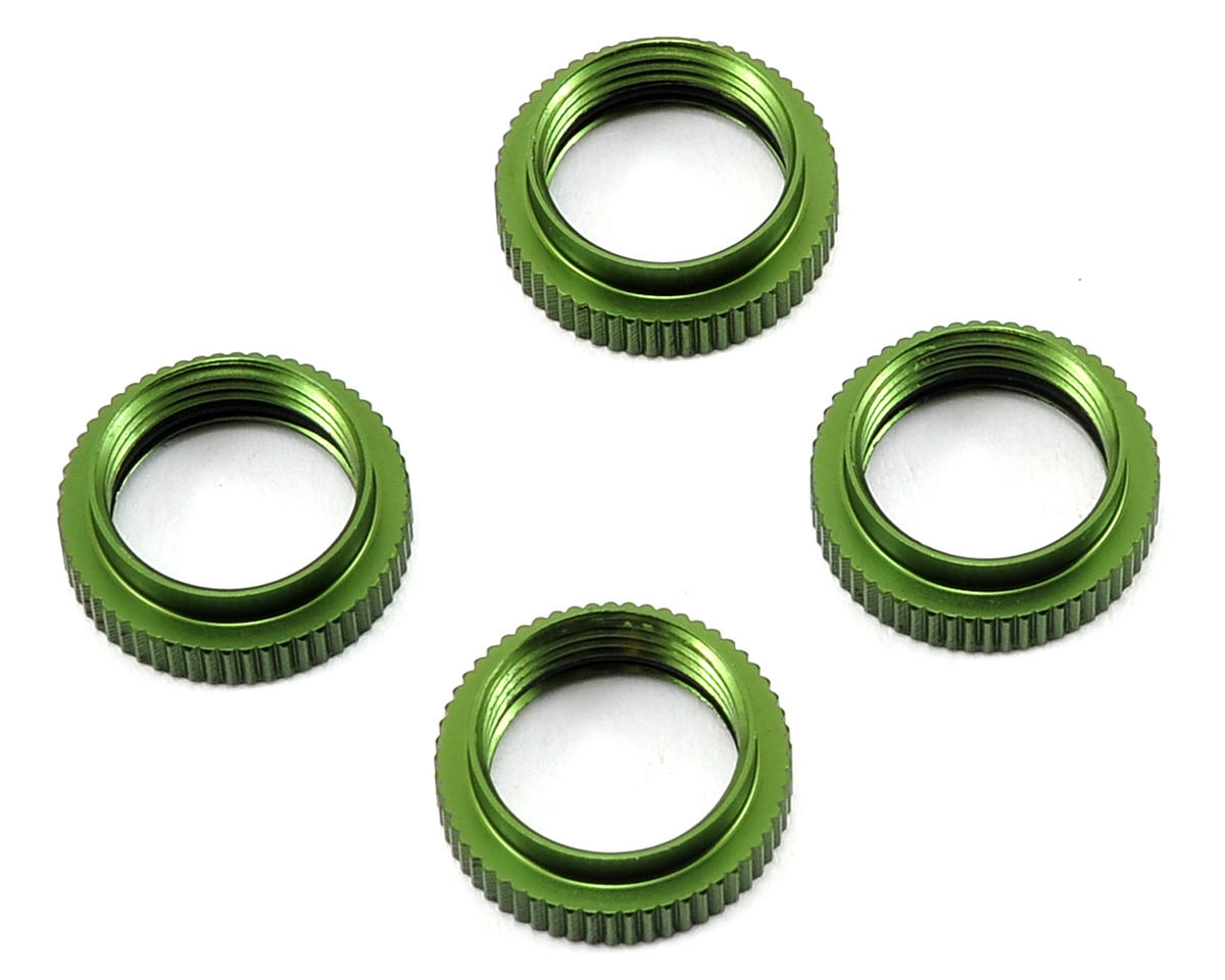ST Racing Concepts Yeti Aluminum Shock Collar w/O-Ring (4) (Green)