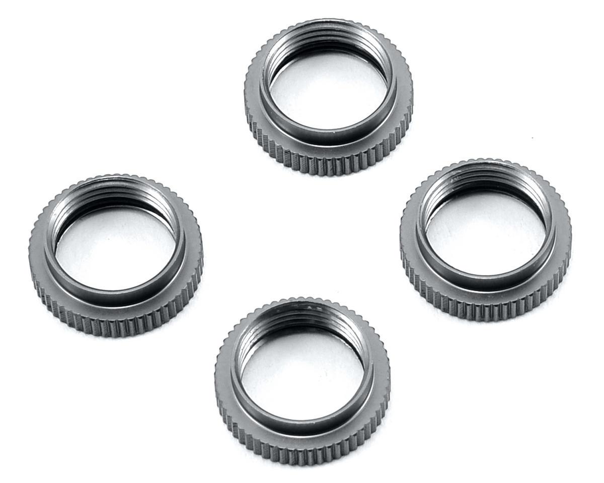 ST Racing Concepts Yeti Aluminum Shock Collar w/O-Ring (4) (Gun Metal)