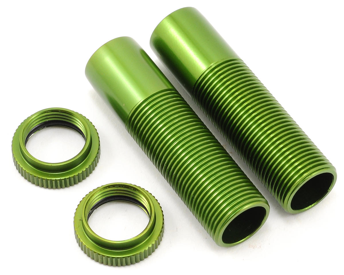 ST Racing Concepts Shock Body & Spring Collar Set (Green) (2)
