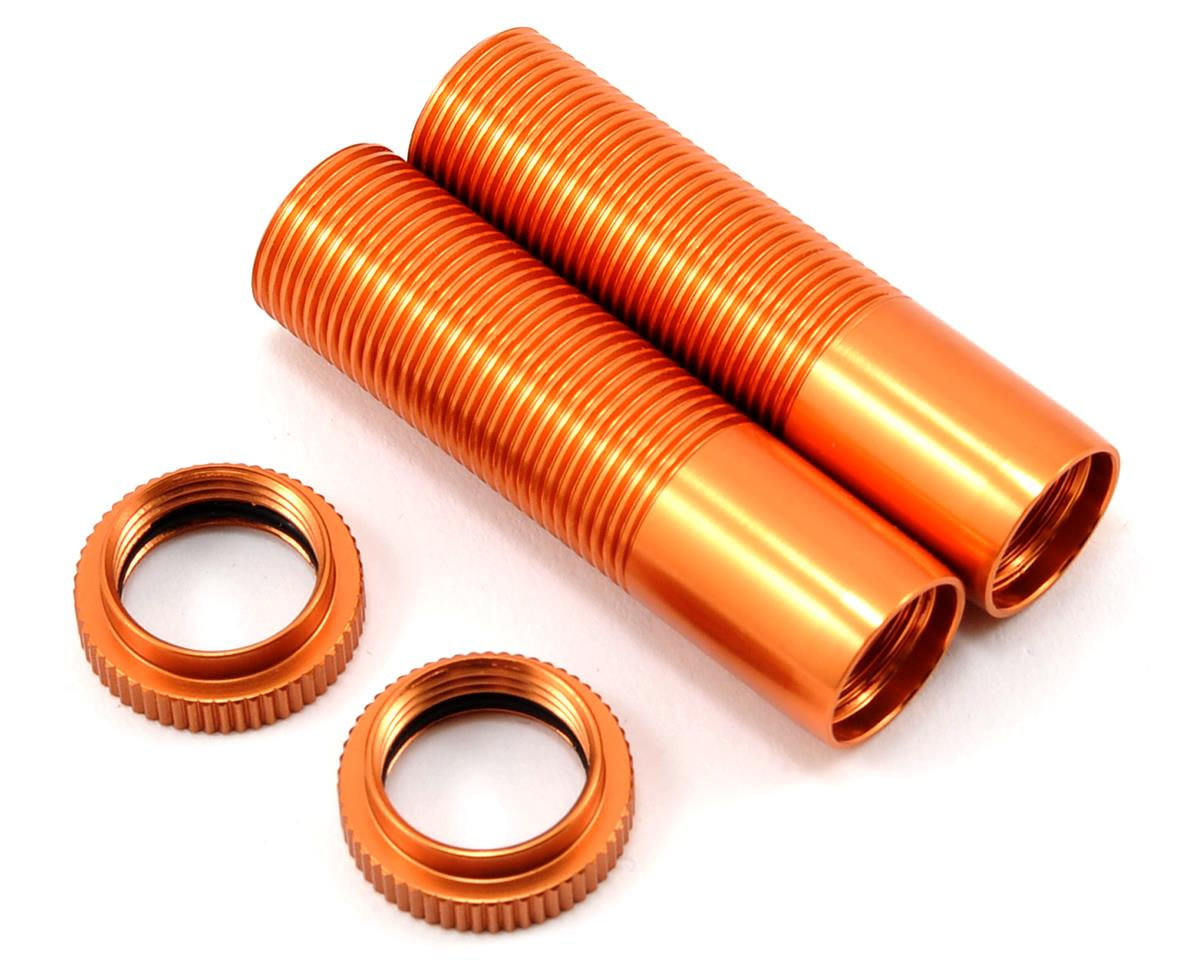 ST Racing Concepts Shock Body & Spring Collar Set (Orange) (2)
