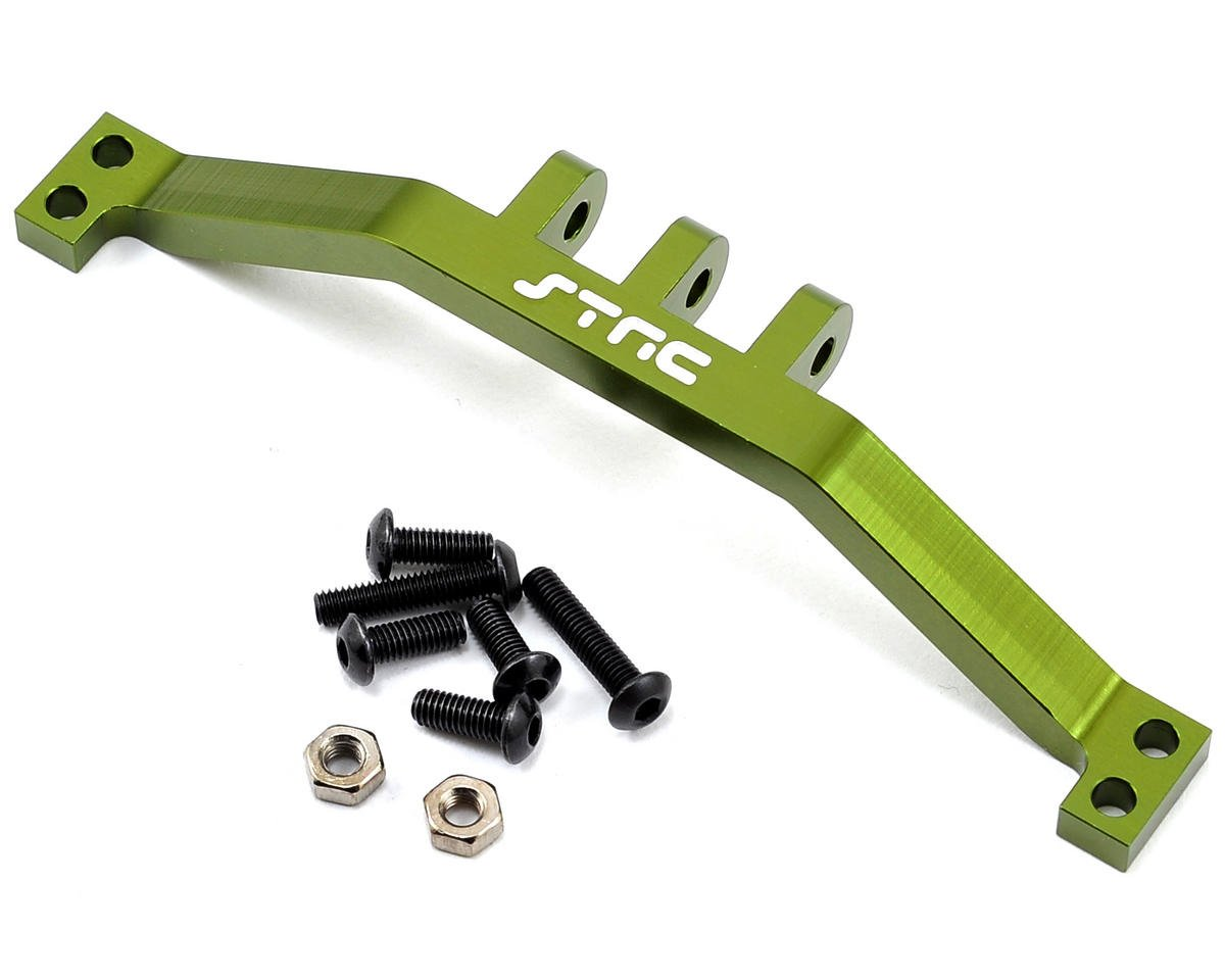 ST Racing Concepts SCX10 Aluminum Rear Upper Link Mount Bracket (Green)