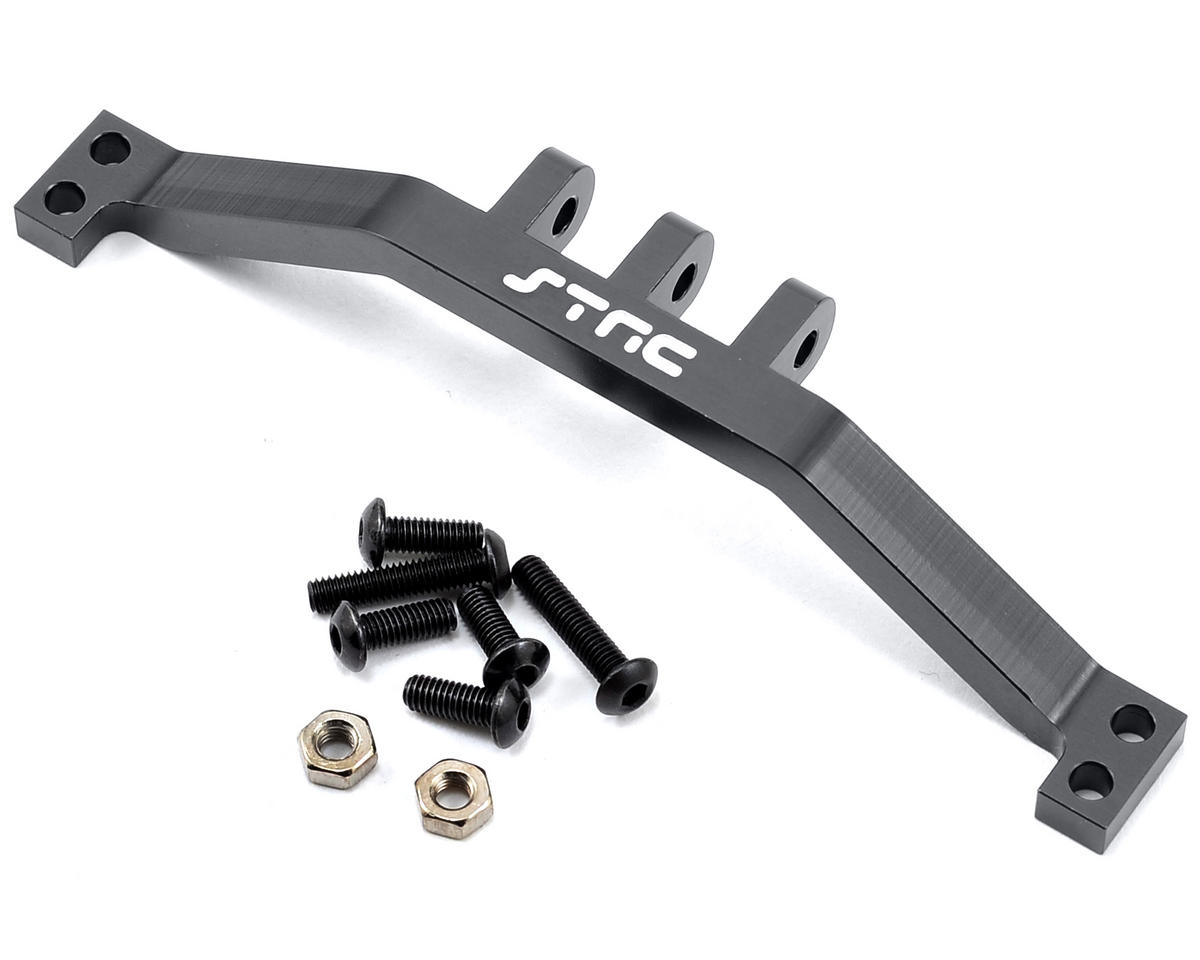 ST Racing Concepts SCX10 Aluminum Rear Upper Link Mount Bracket (Gun Metal)