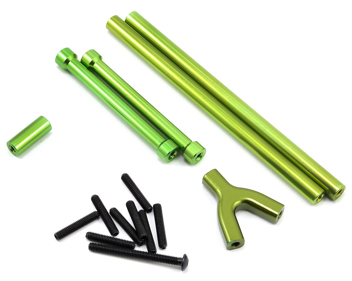 ST Racing Concepts SCX10 Aluminum Front & Rear Upper Suspension Link Set (Green)