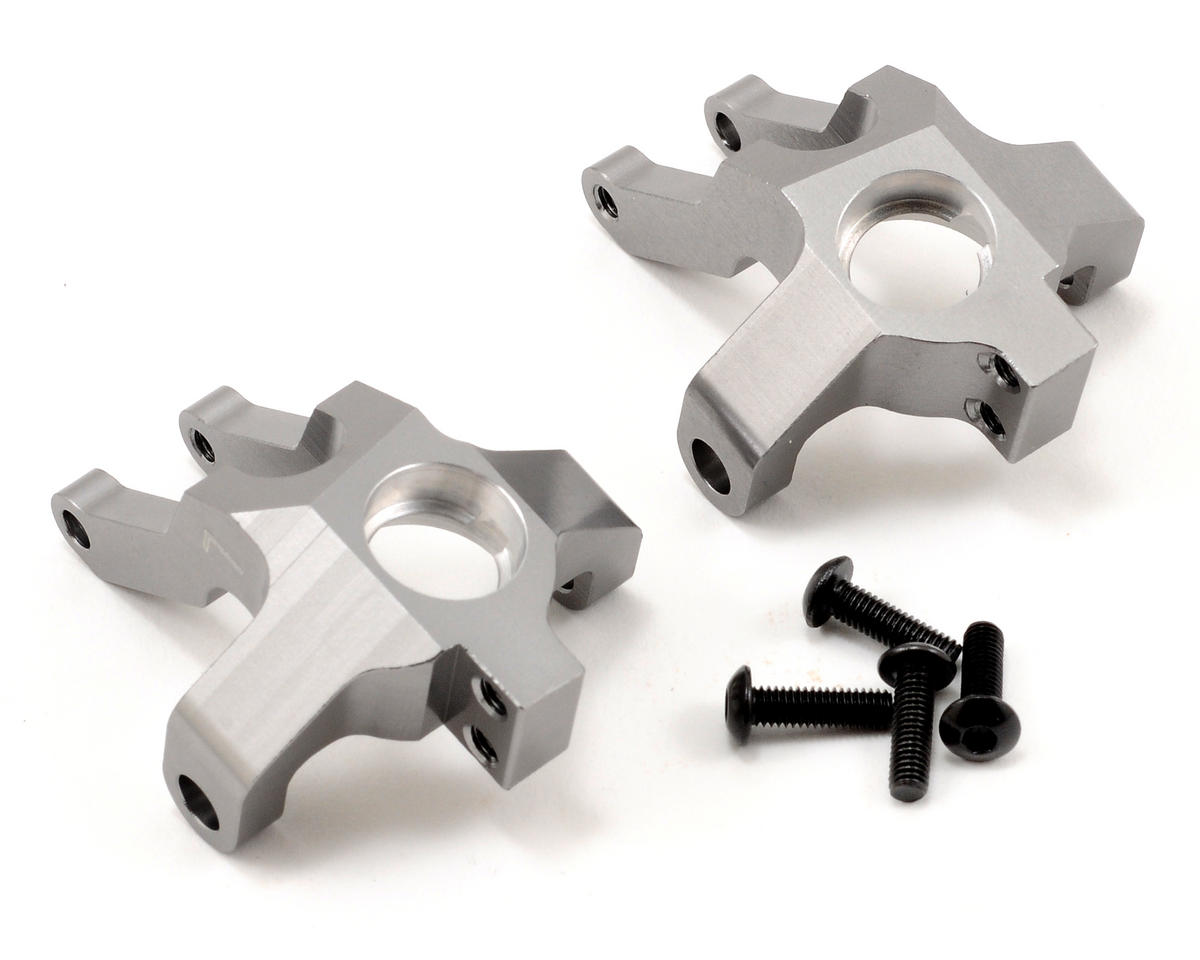ST Racing Concepts Aluminum Steering Knuckle Set (Gun Metal) (2)