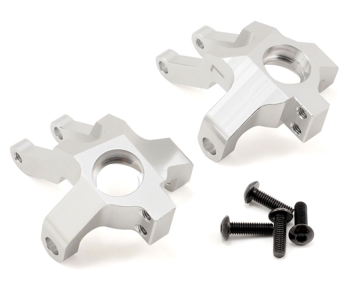 ST Racing Concepts Aluminum Steering Knuckle Set (Silver) (2)