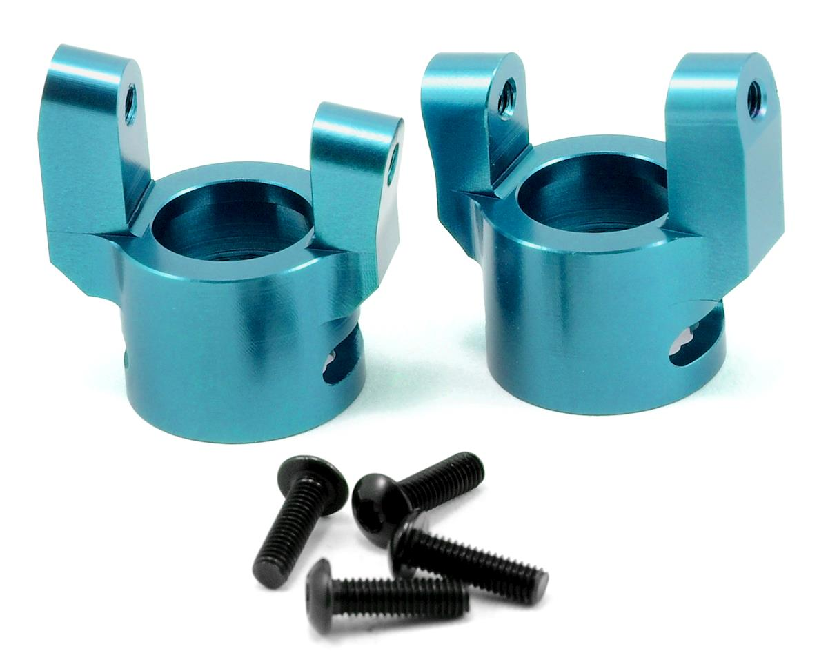 ST Racing Concepts Aluminum C-Hub Set (Blue) (2)
