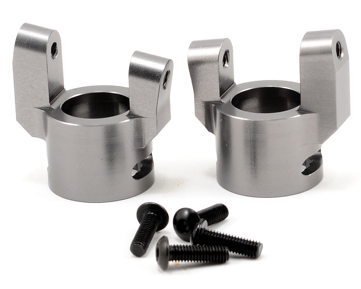 ST Racing Concepts Aluminum C-Hub Set (Gun Metal) (2)