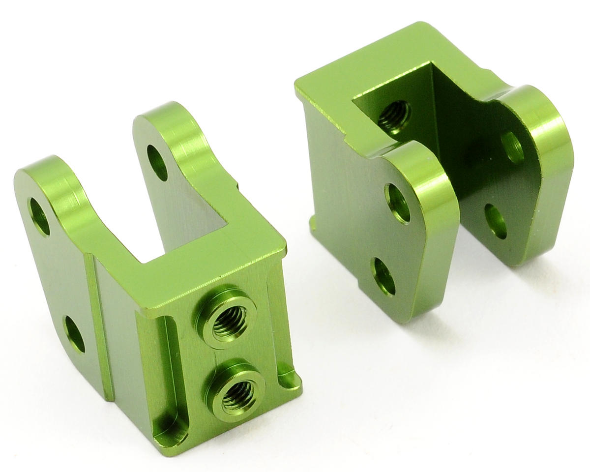 ST Racing Concepts Aluminum HD Bottom Shock Mount Set (2) (Green)