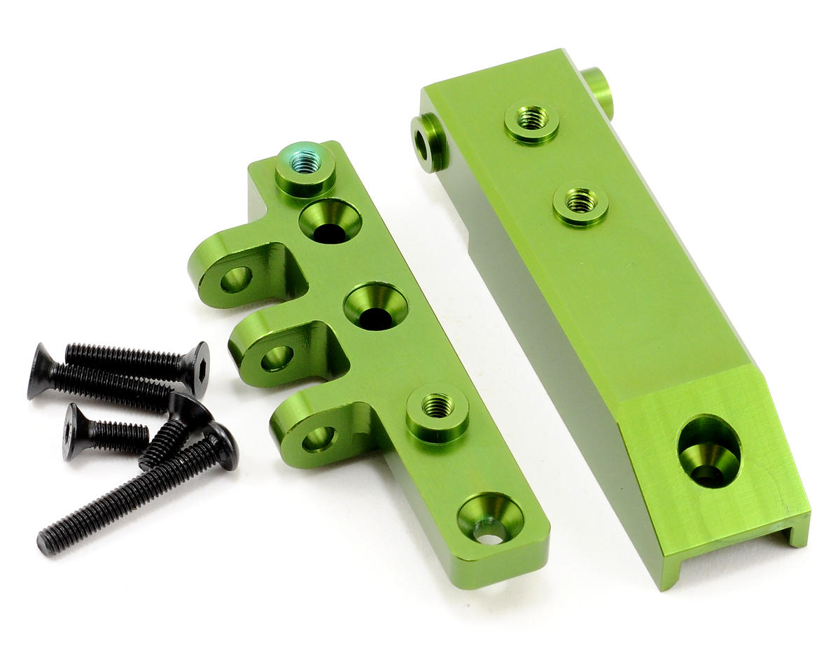 ST Racing Concepts Aluminum HD Rear Upper Link Mount (Green)