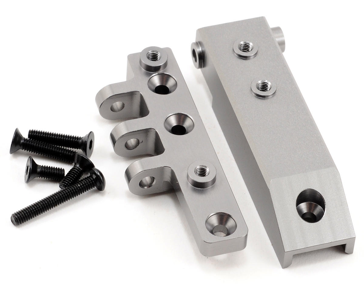 ST Racing Concepts Aluminum HD Rear Upper Link Mount (Gun Metal)