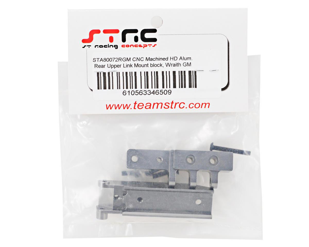 Aluminum HD Rear Upper Link Mount (Gun Metal) by ST Racing Concepts