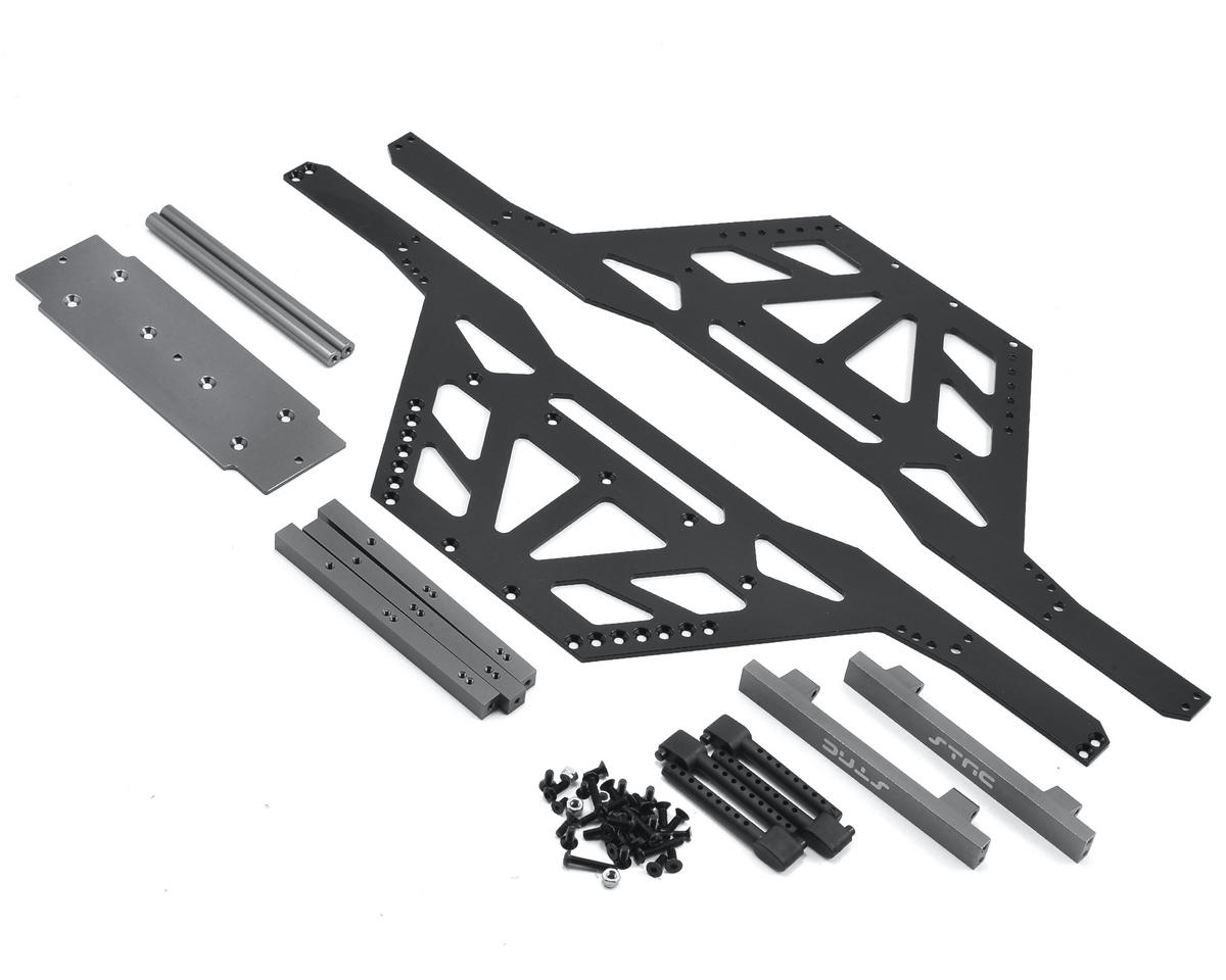 Wraith Izilla Monster Truck Conversion Kit (Black/Gun Metal) by ST Racing Concepts
